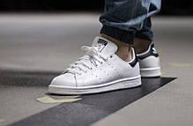 """Кроссовки Adidas Stan Smith """"White/Black"""" (Белые/Черные), фото 3"""