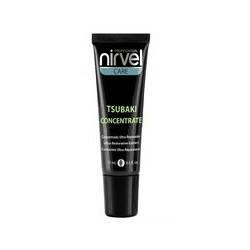 Концентрат для восстановления поврежденных волос с маслом камелии Цубаки Nirvel Tsubaki concentrate 3*15мл