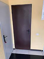 Двери металлические El-30, ЕІ-60 огнестойкие 2050*960. Производство.  Сертификат
