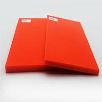 Накладки Мікарта для рукоятки ножа № 92082 Колір: помаранчевий 6,2х80х130 мм