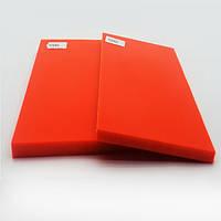 Накладки Мікарта для рукоятки ножа № 92084 Колір: помаранчевий 8,2х80х130 мм
