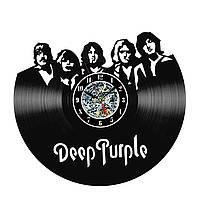 Настенные часы из виниловых пластинок LikeMark Deep Purple