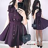 Женское платье с юбкой-солнце (в расцветках), фото 4