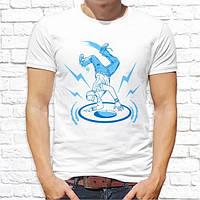 Мужская футболка с принтом Танцор Push IT