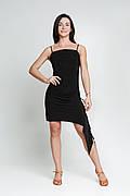 ENSOUL Сарафан SLT732601 Натали (42, черный, брители узкие, масло)