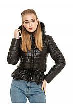Женская куртка осень-весна Рамина черный  (44-54)