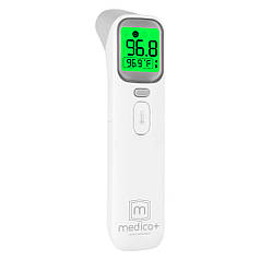 Medica-Plus Termo Control 7.0 Forehead and Ear Thermometer,Infrared Digital Thermometer Suitable for Baby