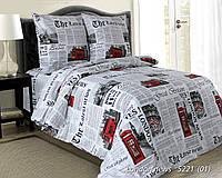 Комплект постельного  белья 2 (пд.215х175  пр 220х180  2 нав 50х70 см)