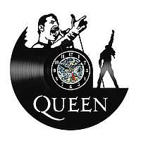 Настенные часы из виниловых пластинок LikeMark Queen