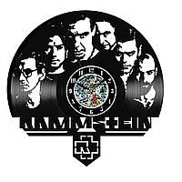 Настенные часы из виниловых пластинок LikeMark Rammstein #1