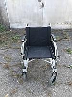 Немецкая надежная Инвалидная коляска B&B Eco 300 ширина сидения 48 см б.у. в очень хорошем состоянии из Европы