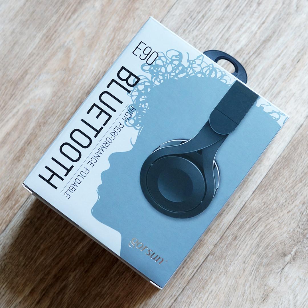 Накладные беспроводные bluetooth-наушники с микрофоном Gorsun GS-E90 (черный)