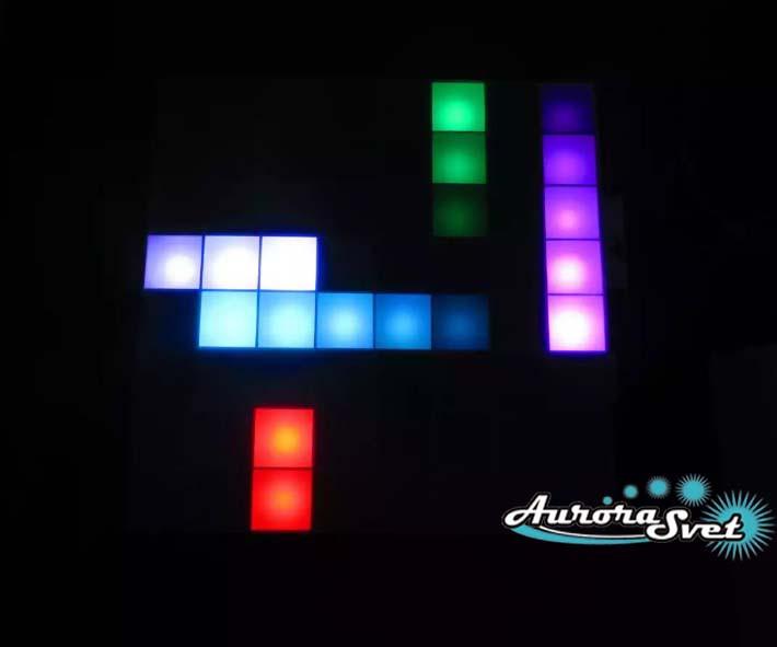 Светодиодная пиксельная панель напольная F-125-8*8-1-C