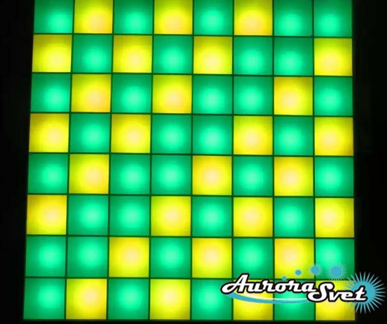 Светодиодная пиксельная панель напольная F-125-8*8-1-D