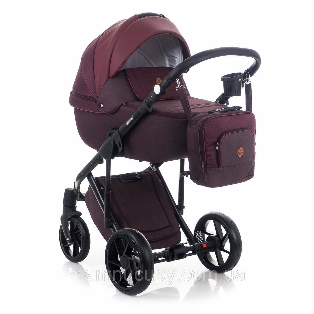Детская универсальная коляска 2 в 1 Bebe-mobile MARCONI BE-71 (бебе-мобайл маркони)