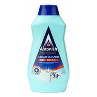 Крем-антибактеріальний від складних забруднень із вибілювачем Astonish Cream Cleaner with Bleach 500 мл