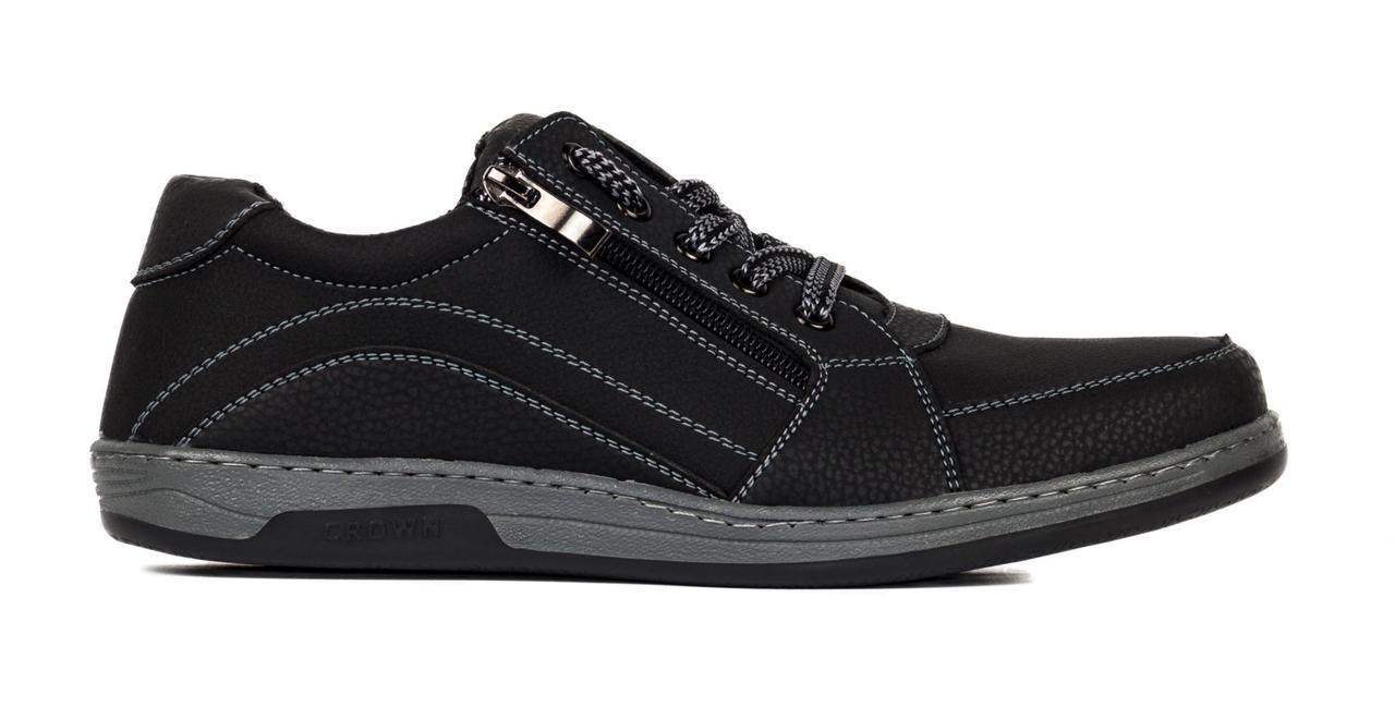 Туфлі чоловічі спортивні Львівської фабрики, чорні