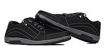 Туфлі чоловічі спортивні Львівської фабрики, чорні, фото 2