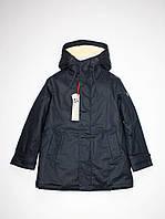 Парка куртка Mixture Италия детская для мальчика на меху темно-синяя