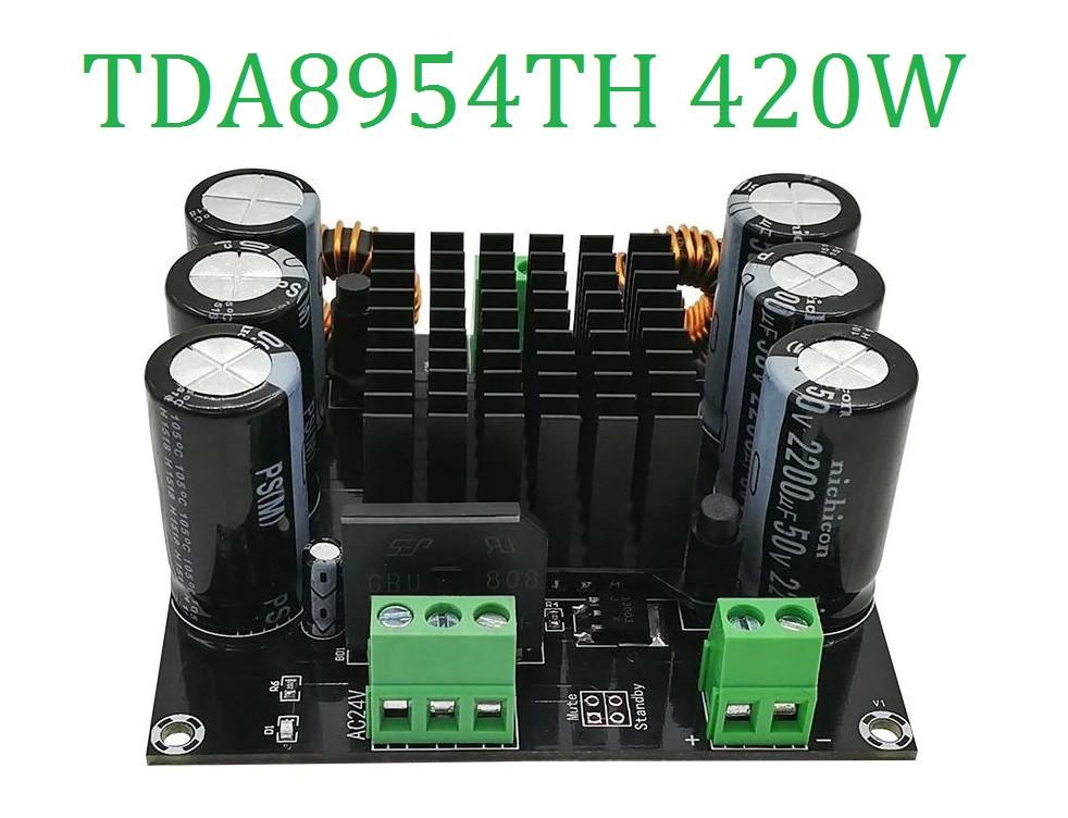 Высокомощный монофонический усилитель D-класса TDA8954TH основной режим BTL Hi-Fi XH-M253