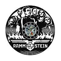 Настенные часы из виниловых пластинок LikeMark Rammstein #2