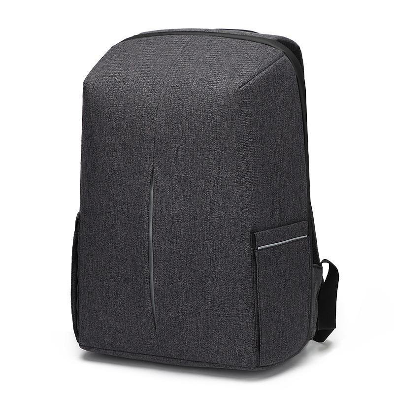 Городской рюкзак-антивор с USB, кодовым замком, карманом для ноутбука, органайзером, влагозащищенный, 25л