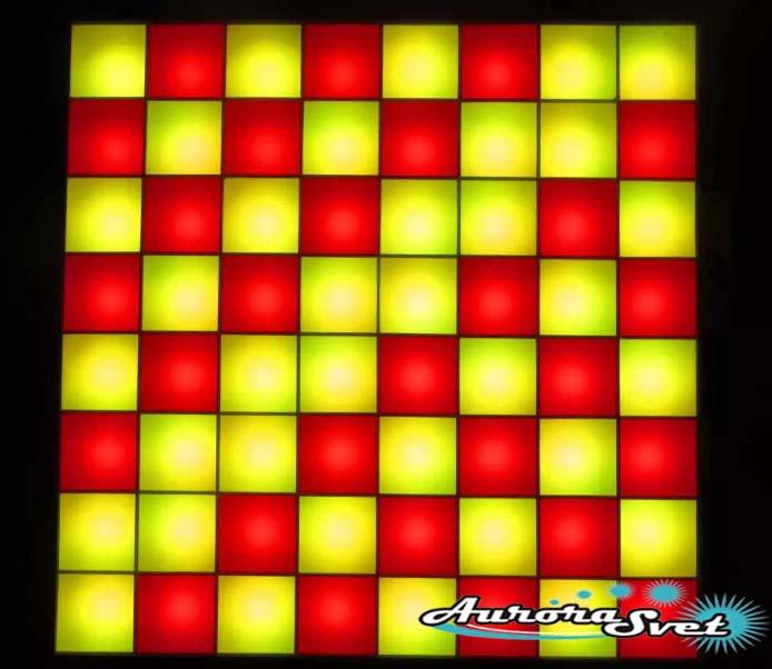 Светодиодная пиксельная панель напольная F-125-8*8-4-C