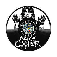 Настенные часы из виниловых пластинок LikeMark Alice Cooper