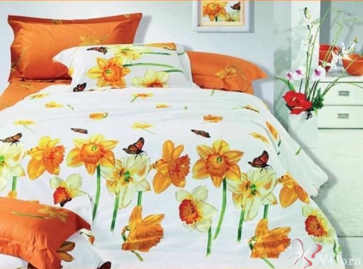 """Полуторное постельное белье Вилюта """"Нарцис"""""""