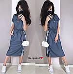 Женское платье в спортивном стиле с карманами (2 цвета), фото 3