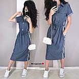 Женское платье в спортивном стиле с карманами (2 цвета), фото 6