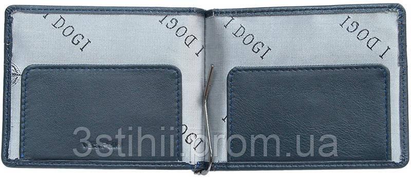Зажим для денег Tony Perotti Cortina 5040-CR navy Синий, фото 2