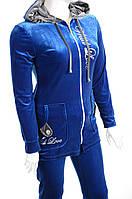 Велюровый женский спортивный костюм R3348, фото 1