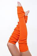 ENSOUL Гетры GW840264 (40 см, морковный, 100% акрил)