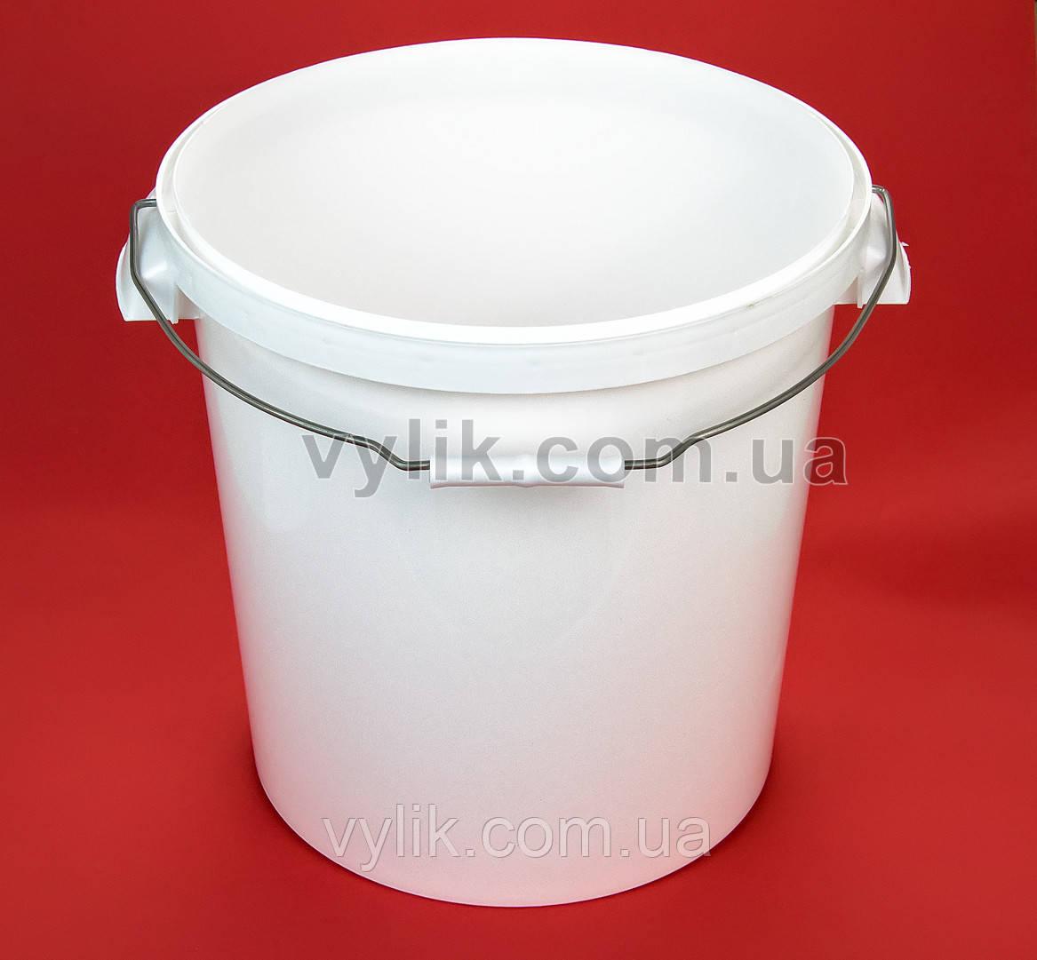 Ведро пластиковое пищевое 20 л