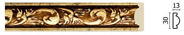 Молдинг для стен Арт-Багет 157-552, интерьерный декор.