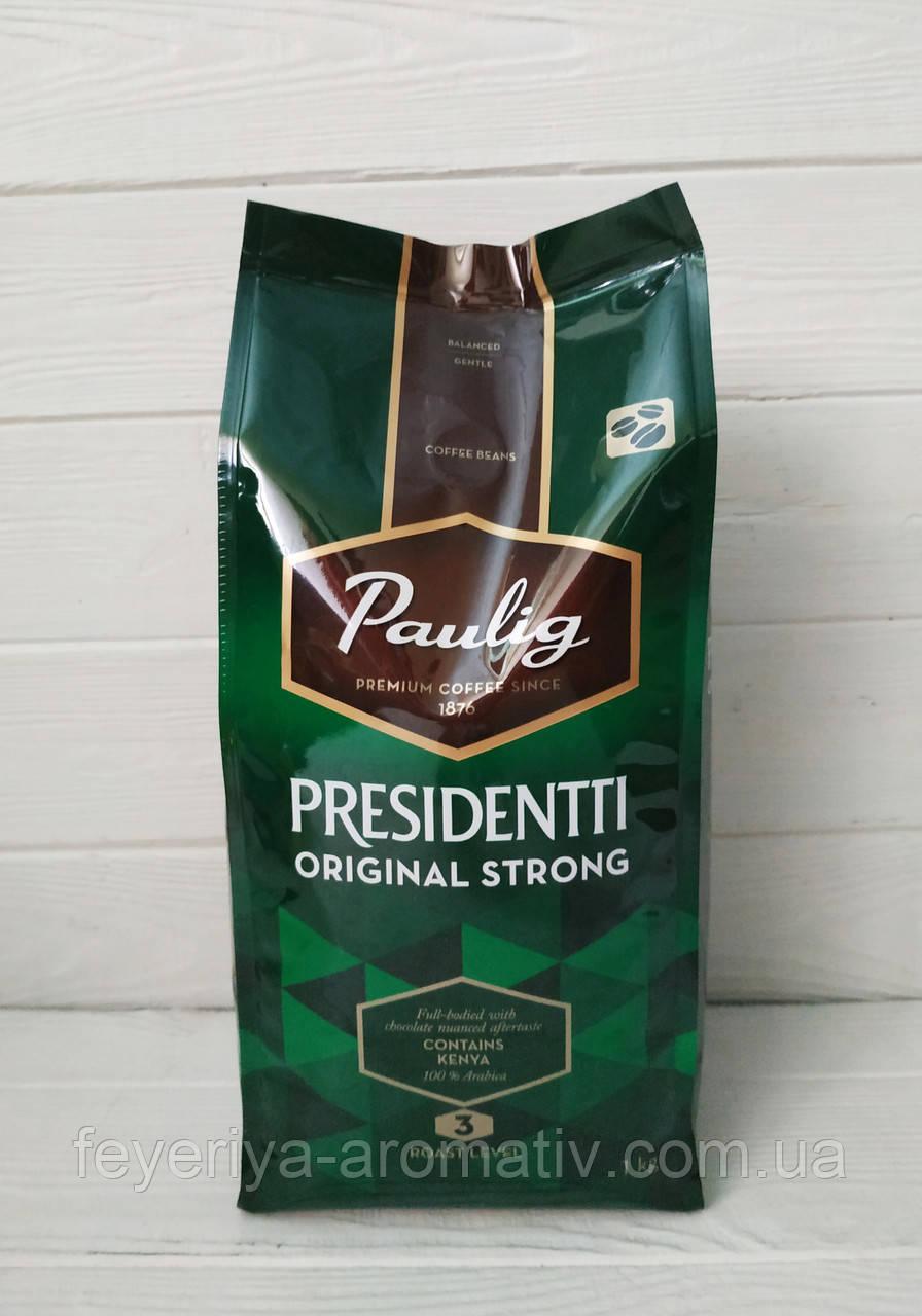Кофе в зернах Paulig Presidentti original 1кг (Финляндия)