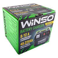 Зарядное устройство Winso 139500 8/12А 12-24V регулировка силы тока- корпус металл