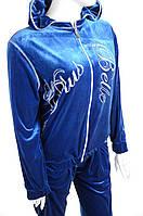 Велюровый женский спортивный костюм 3331, фото 1