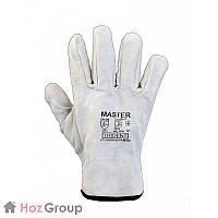 Перчатки защитные крага короткие MASTER
