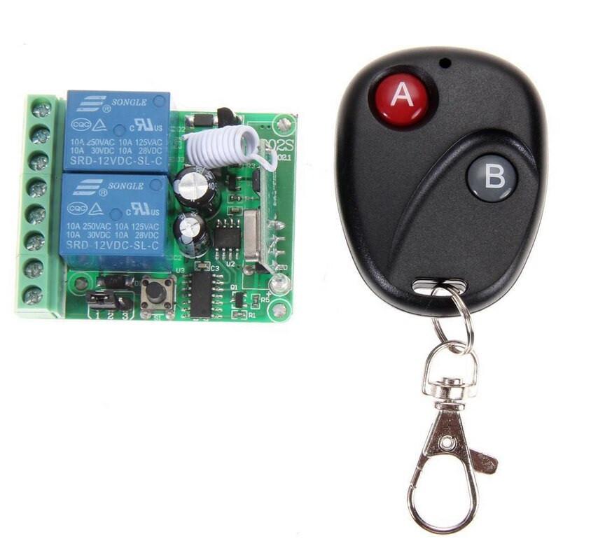 Беспроводной пульт дистанционного управления с модулем-приемником на 2 реле