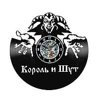 Настенные часы из виниловых пластинок LikeMark Король И Шут #2