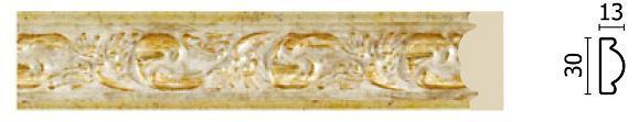 Молдинг для стін Арт-Багет 157-553, інтер'єрний декор.