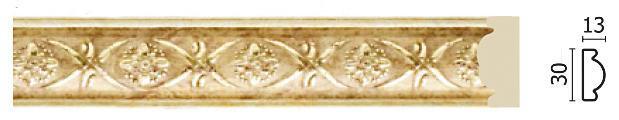 Молдинг для стен Арт-Багет 157-933, интерьерный декор.