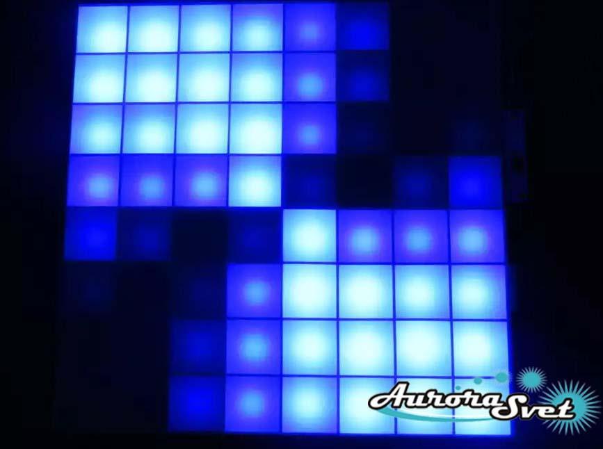 Светодиодная пиксельная панель напольная F-125-8*8-6-C