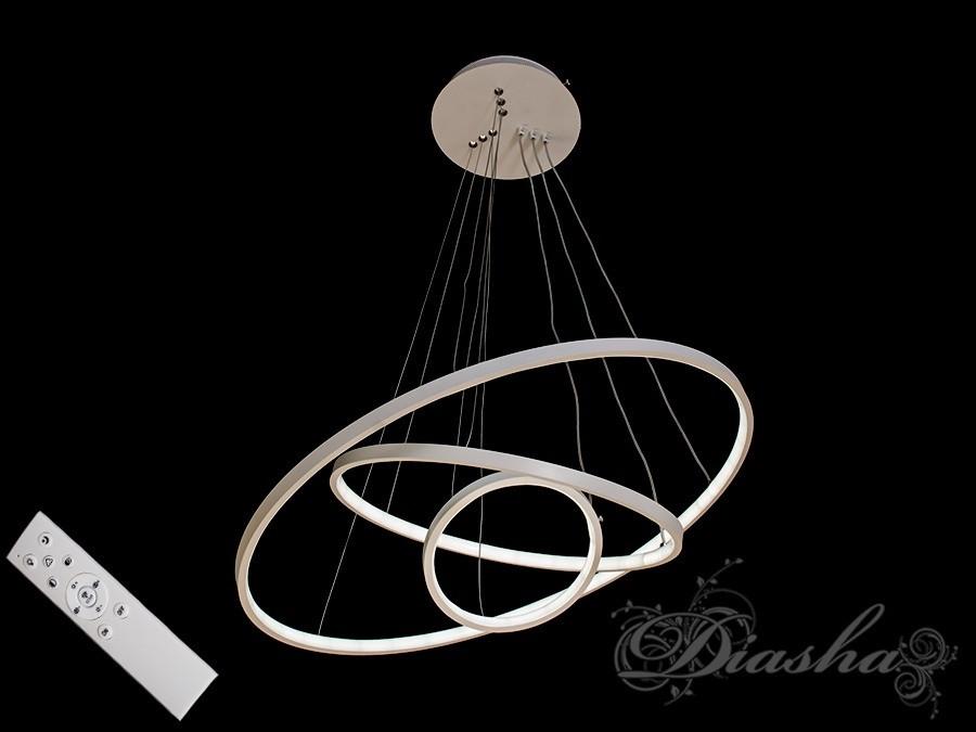 Светодиодные подвесные кольца MD9079-3WH-600+400+200 dimmer