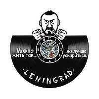 Настенные часы из виниловых пластинок LikeMark Ленинград #1