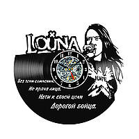 Настенные часы из виниловых пластинок LikeMark Louna