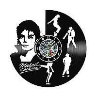 Настенные часы из виниловых пластинок LikeMark Майкл Джексон