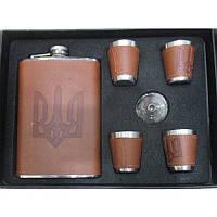 Сувенирный подарочный мужской набор R86713, цвет коричневый